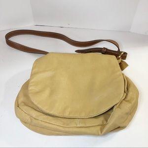 Coldwater Creek leather shoulder bag